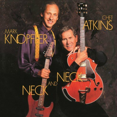 CHET ATKINS & MARK KNOPFLER NECK AND NECK MUSIC ON VINYL