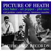 Chet Baker & Art Pepper Picture Of Heath Pure Pleasure180g LP