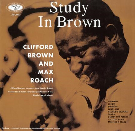 Magnífica edición de Clifford Brown & Max Roach Study In Brown 180g LP Acoustic Sounds