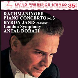 Serge Rachmaninov: Piano Concerto No. 3 in D minor, op. 30 - Byron Janis (Piano) and the London Symphony Orchestra conducted by Antal Dorati MERCURY