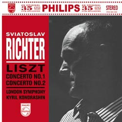 Franz Liszt: Concertos for Piano and Orchestra Nos. 1 & 2 - Sviatoslav Richter and the London Symphony Orchestra conducted by Kyril Kondrashin PHILIPS