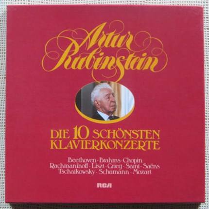 Artur Rubinstein The Ten Great Concertos RCA