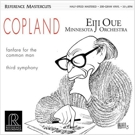 Copland Fanfare for the Common Man & Third Symphony Eiji Oue Minnesota Orchestra REFERENCE RECORDING