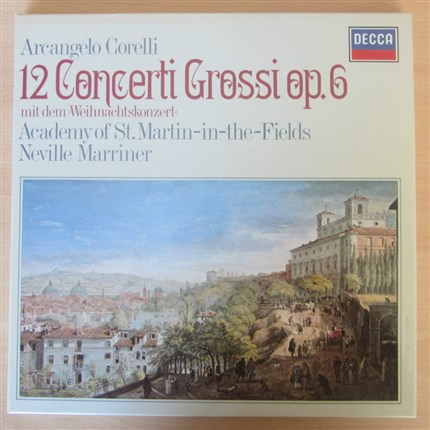 Corelli 12 Concerti Grossi Op. 6 Academy St. Martin-in-the-Fields Neville Marriner DECCA