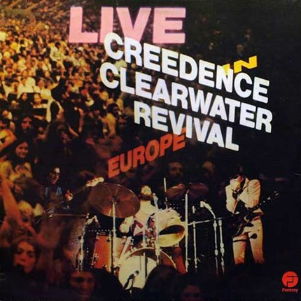 "Creedence Clearwater Revival Live In Europe 180g 2LP ""4 Men With Beards"""