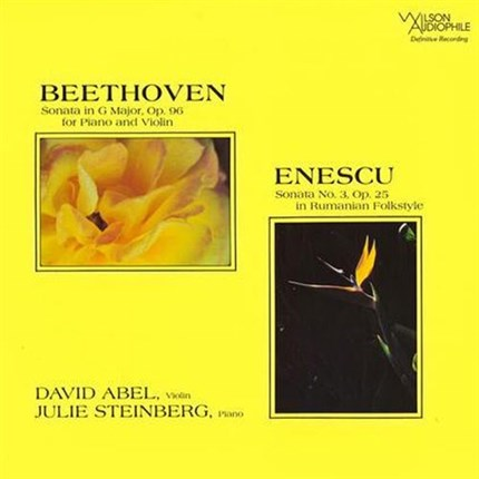 David Abel & Julie Steinberg Beethoven & Enescu WILSON AUDIOPHILE Analogue Productions 200g LP
