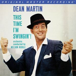 Dean Martin This Time I'm Swingin'! Mobile Fidelity 180 gr