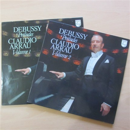 Debussy Preludes Book 1 & 2 Claudio Arrau PHILIPS