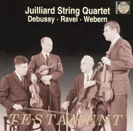 DEBUSSY_RAVEL-WEBERN Strings Quartet JUILLIARD TESTAMENT