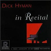 Dick Hyman in Recital REFERENCE RECORDINGS