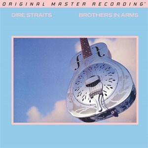 Dire Straits Brothers In Arms MOBILE FIDELITY Numbered Limited Edition 180g 45rpm 2LP