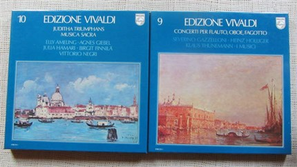 Vivaldi Edition 10 Vol 49 LP's Philips