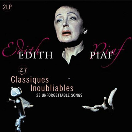 EDITH PIAF    23 Classiques Inoubliables  The best of Edith Piaf  VINYL PASSION