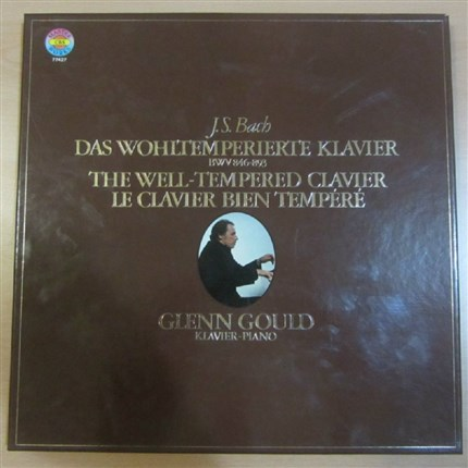 Bach The well tempered clavier Glenn Gould CBS