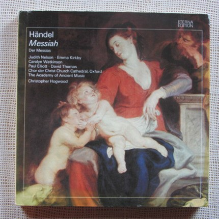 Haendel Messiah The Academy of Ancient Music  Christopher Hogwood ETERNA