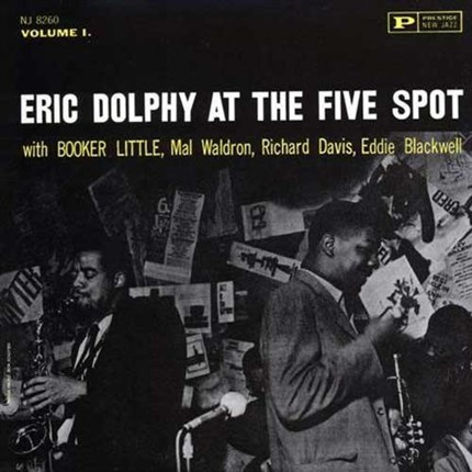 Eric Dolphy Eric Dolphy At the Five Spot ANALOGUE PRODUCTIONS PRESTIGE 200g LP (Stereo)