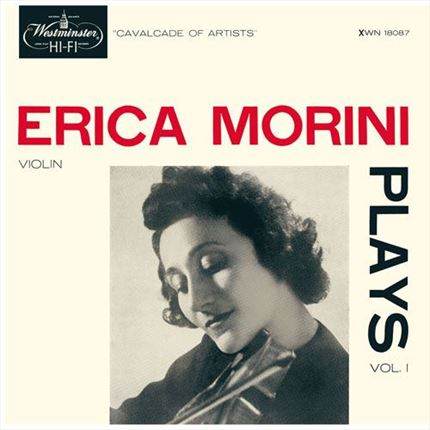Erica Morini Erica Morini Plays Vol. 1 ANALOGPHONIC 180g LP