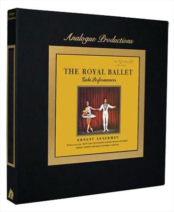 Ernest Ansermet The Royal Ballet Gala Performances ANALOGUE PRODUCTIONS 200g 45rpm 5LP