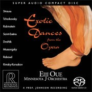 Exotic Dances from the Opera Minnesota Orchestra Eiji Oue SACD REFERENCE RECORDINGS