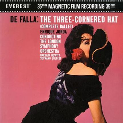 Falla The Three Cornered Hat Complete Ballet ANALOGUE PRODUCTIONS EVEREST 200g 45rpm 2LP