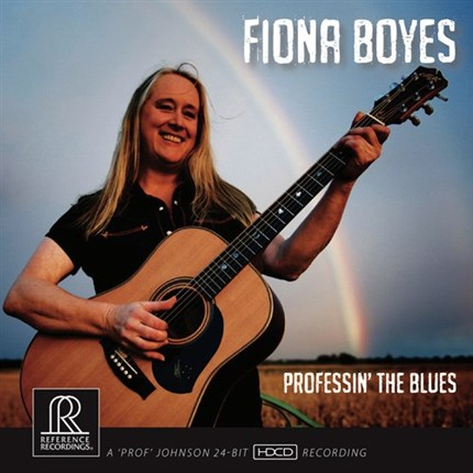 Fiona Boyes Professin' the Blues HDCD REFERENCE RECORDINGS