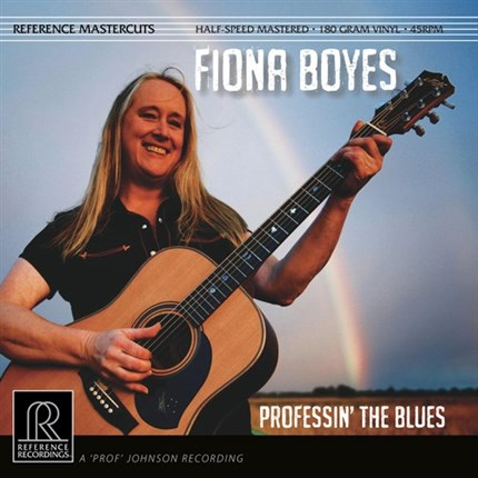 Fiona Boyes Professin' The Blues Half-Speed Mastered 45rpm 180g 2LP REFERENCE RECORDINGS