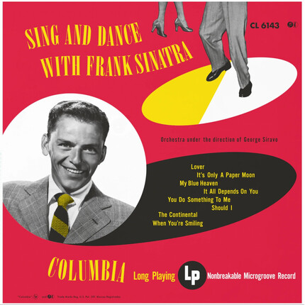 Frank Sinatra Sing And Dance With Frank IMPEX Numbered Limited Edition 180g LP (Mono)