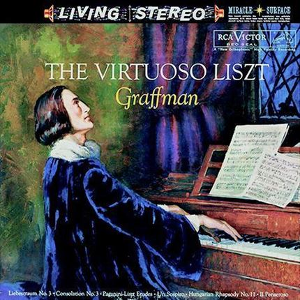 Gary Graffman The Virtuoso Liszt Analogue Productions 200g LP RCA Living Stereo