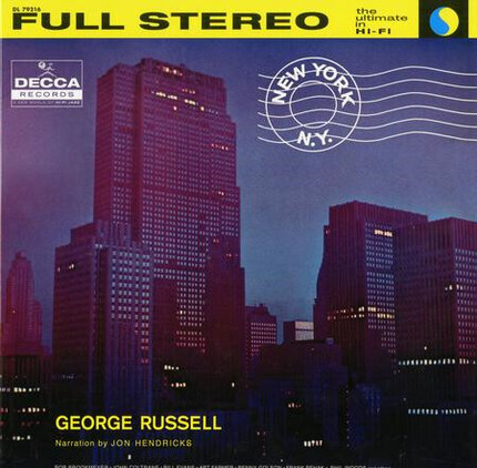 Nueva edición analógica de George Russell New York, N.Y. 180g LP Acoustic Sounds