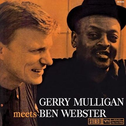Gerry Mulligan & Ben Webster Gerry Mulligan Meets Ben Webster ANALOGUE PRODUCTIONS 200g LP