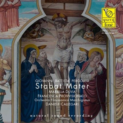 GIOVANNI BATTISTA PERGOLESI - STABAT MATER FONE RECORDS LP