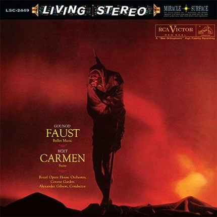 Gounod & Bizet Faust: Ballet Music & Carmen: Suite Alexander Gibson RCA Living Stereo ANALOGUE PRODUCTIONS