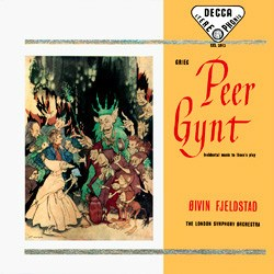 "Edward Grieg: ""Peer Gynt"" op. 23   London Symphony Orchestra conducted by Øivin Fjeldstad DECCA SPEAKERS CORNER"