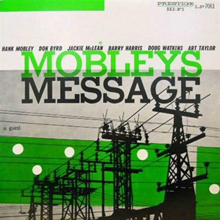Hank Mobley Mobley's Message 200g LP (Mono)  ANALOGUE PRODUCTIONS PRESTIGE