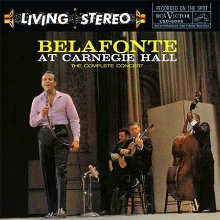 Harry Belafonte Belafonte At Carnegie Hall The Complete Concert ANALOGUE PRODUCTIONS 200g 2LP 45 rpm