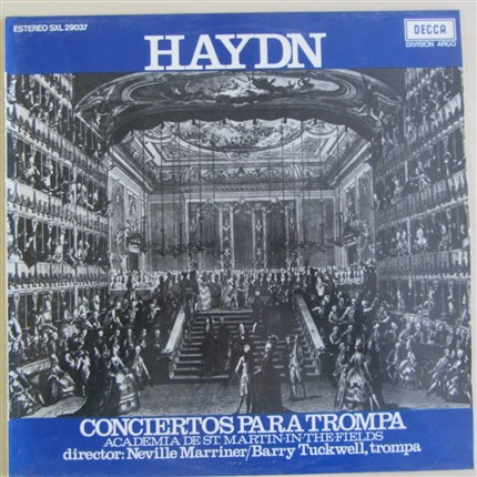 HAYDN Horn Concerts Barry Tuckwell, trompa  Academy of St-Martin-in-the-Fields  Neville Marriner DECCA