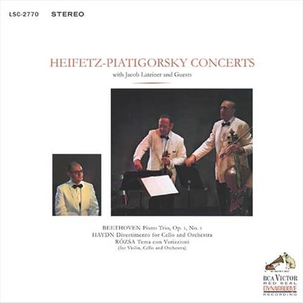 Heifetz-Piatigorsky Concerts With Jacob Lateiner & Guests Impex Records Hybrid Stereo SACD
