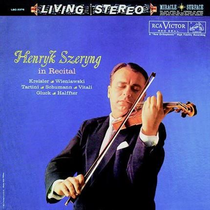 Henryk Szeryng Henryk Szeryng in Recital 200g LP Analogue Productions