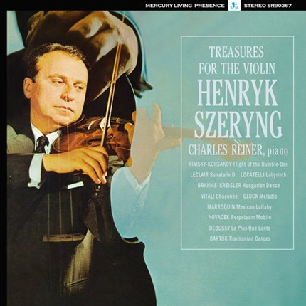 Henryk Szeryng Treasures For The Violin ANALOGPHONIC LP