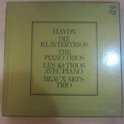 Haydn 43 Piano Trios Beaux Arts Trio PHILIPS 14 LP