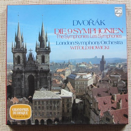 Dvorak Complete Symphonies London Symphony Witold Rowicki PHILIPS