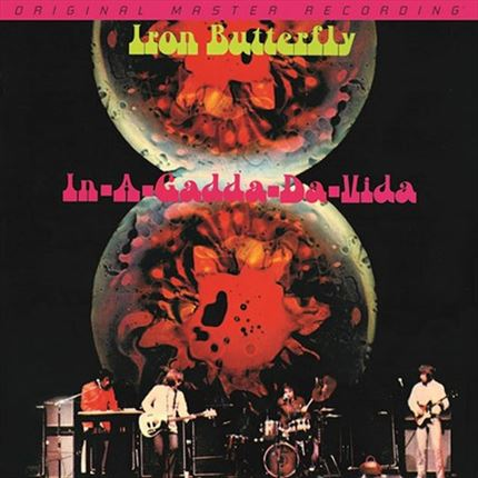 Iron Butterfly In-A-Gadda-Da-Vida Mobile Fidelity Numbered Limited Edition 180g LP