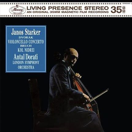 Janos Starker Dvorak: Violincello Concerto ANALOGUE PRODUCTIONS 200g 45rpm 2LP