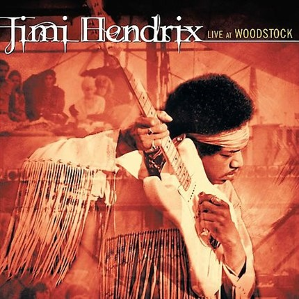 Jimi Hendrix Live At Woodstock SONY LEGACY 180g 3LP