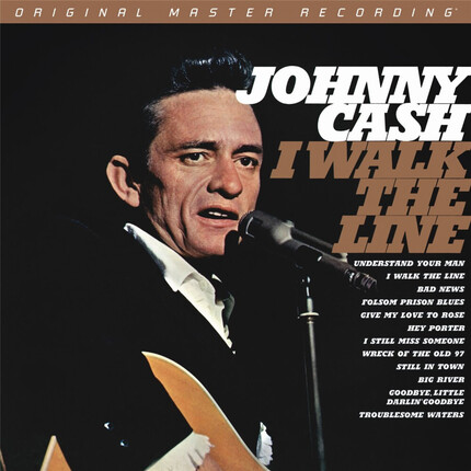 Johnny Cash I Walk The Line Mobile Fidelity Numbered Limited Edition 45rpm 180g 2LP (Mono)