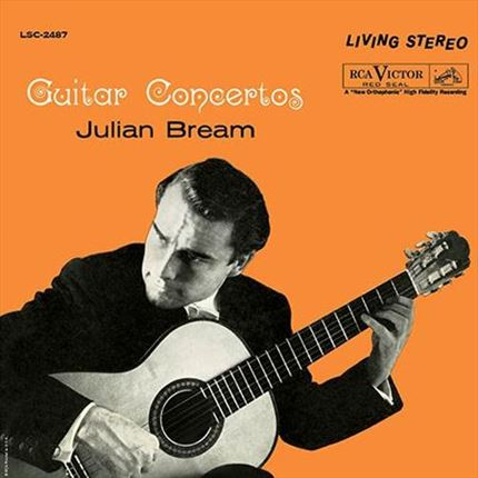 Julian Bream Guitar Concertos Analogue Productions 200g LP