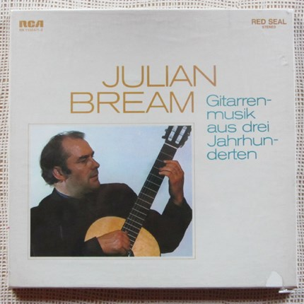 Guitar Music Julian Bream RCA