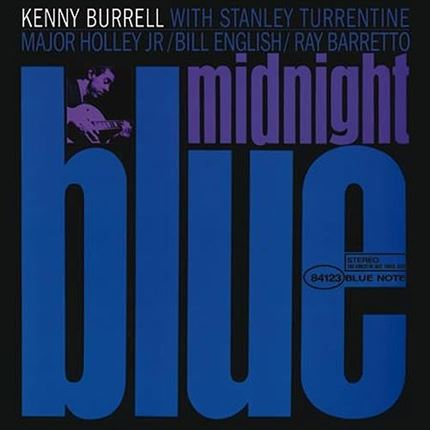 Kenny Burrell Midnight Blue ANALOGUE PRODUCTIONS 200g 45rpm 2LP