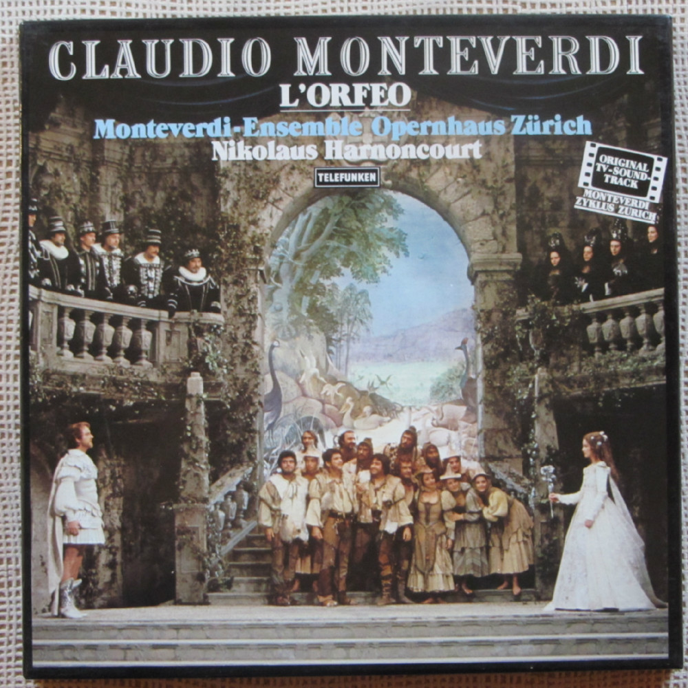 Monteverdi L Incoronazione Di Poppea Lenhart Gardow
