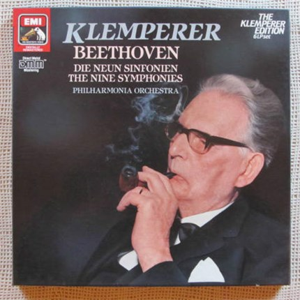 Beethoven The nine symphonies Otto Klemperer Philharmonia Orchestra EMI